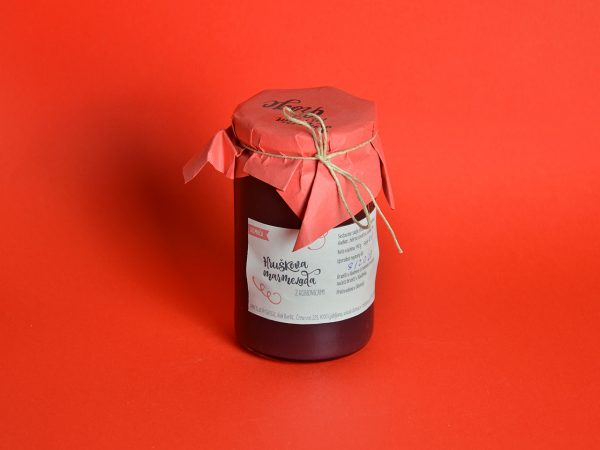 hruškova marmelada z robidnicami