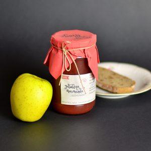 Jabolčna marmelada z ribezom in rabarbaro