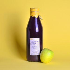 Jabolčni sok z grozdjem