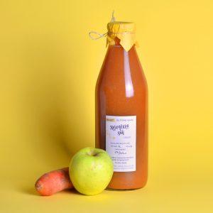 Korenčkov sok z jabolki