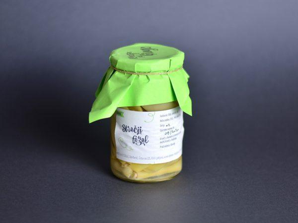 Stročji fižol maslenec v kisu